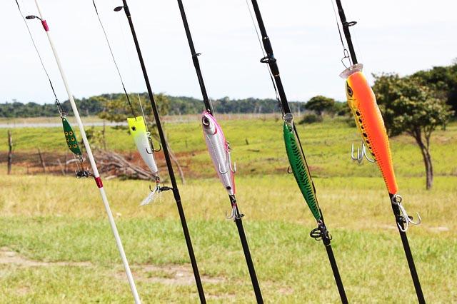 Fischerprüfung NRW Ruten zusammenstellen