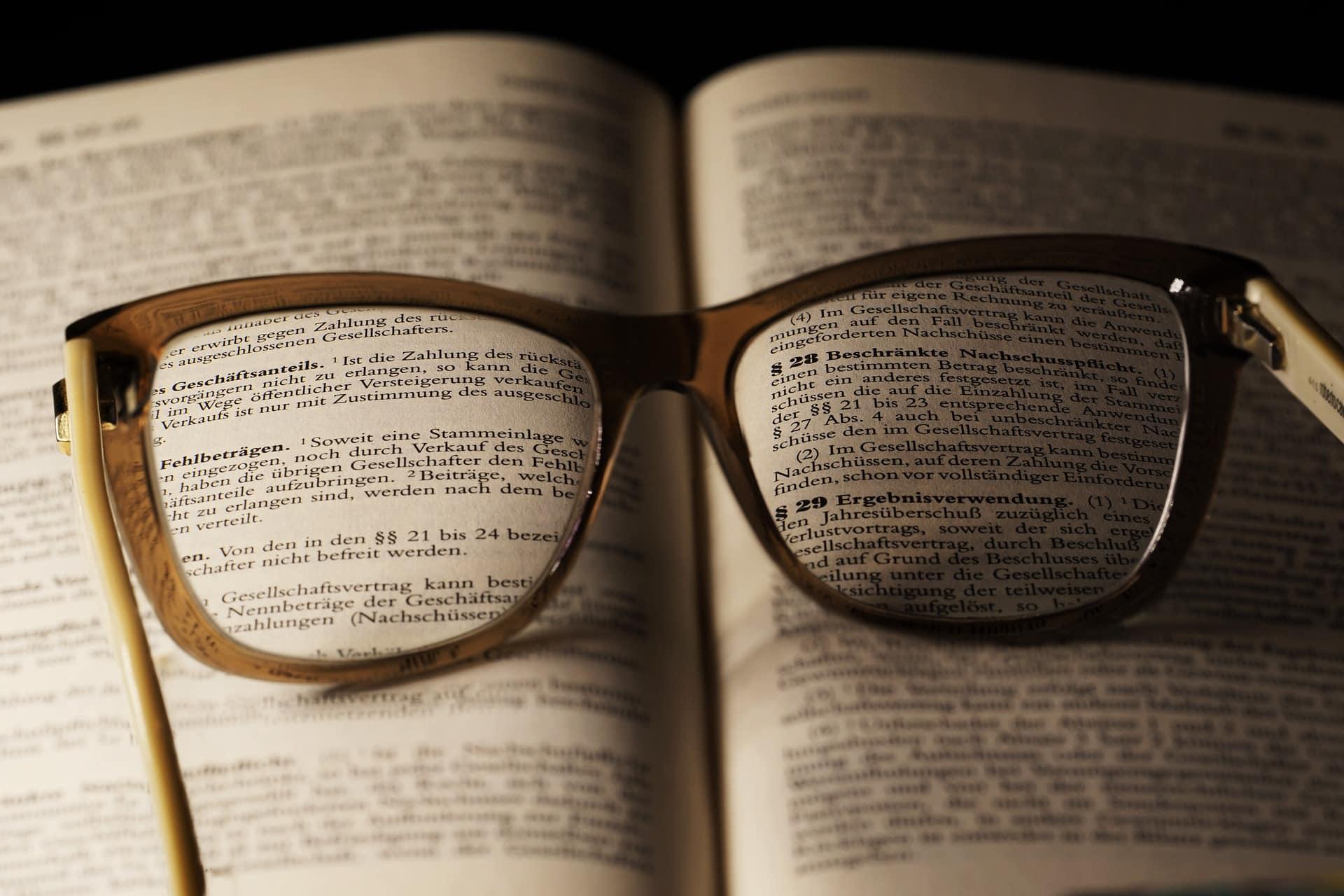 Angelschein Lippstadt - Brille und lernen