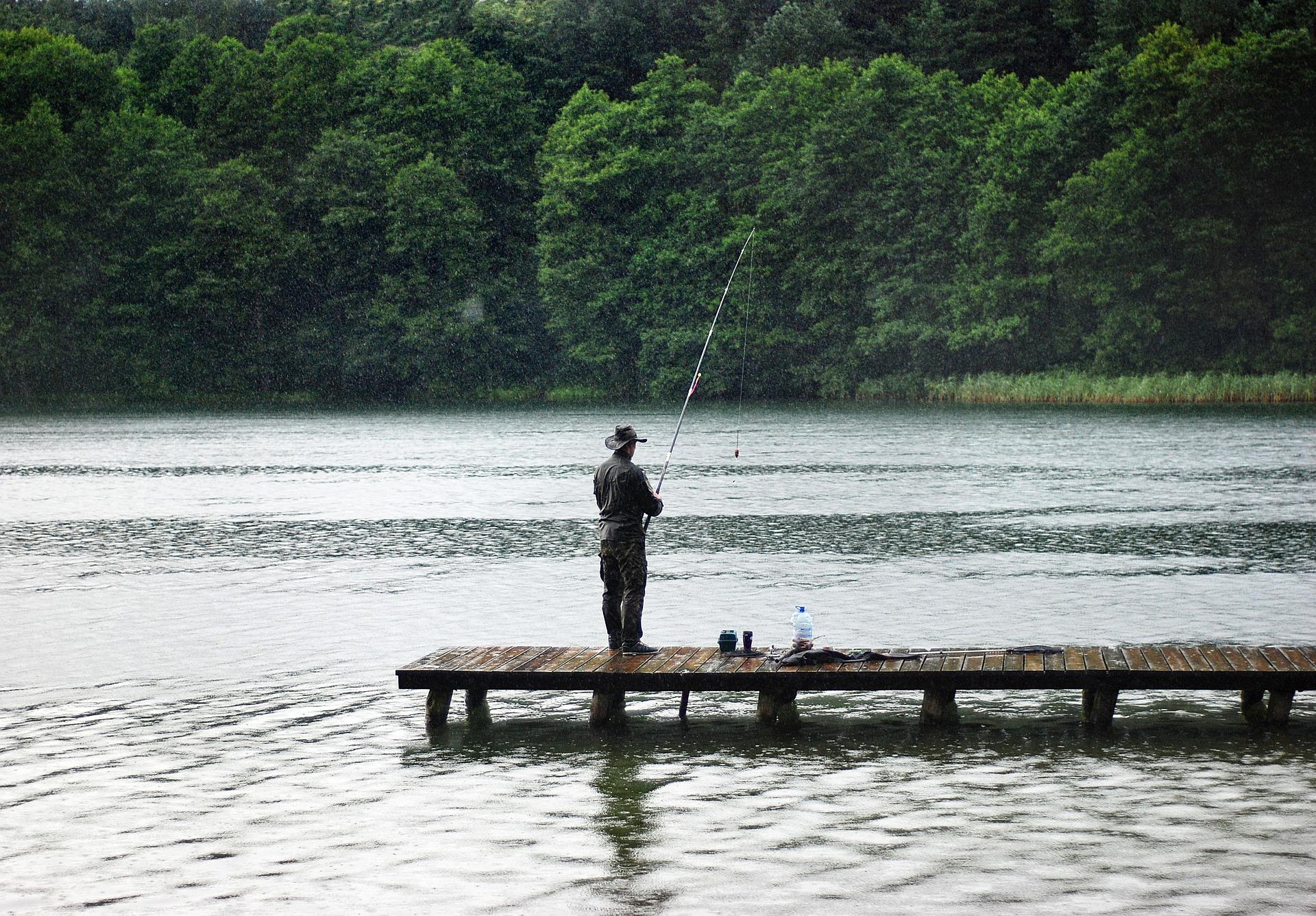 Angelschein Peine - Angler am See