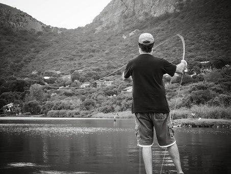 Angelschein Mettmann - Angler an einem See